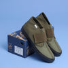 The Hill-Side Bridge Mid, Three Olive Drab Fabrics, Kaptain Sunshine Special Edition