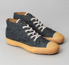 The Hill-Side - Chukka Sneakers, Indigo Hemp / Cotton Denim - SN3-006 - image 1