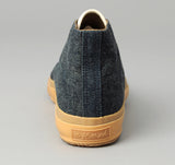 The Hill-Side - Chukka Sneakers, Indigo Hemp / Cotton Denim - SN3-006 - image 2