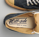 The Hill-Side - Chukka Sneakers, Indigo Hemp / Cotton Denim - SN3-006 - image 4