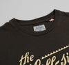 The Hill-Side Classic Logo Printed T-Shirt, Faded Black