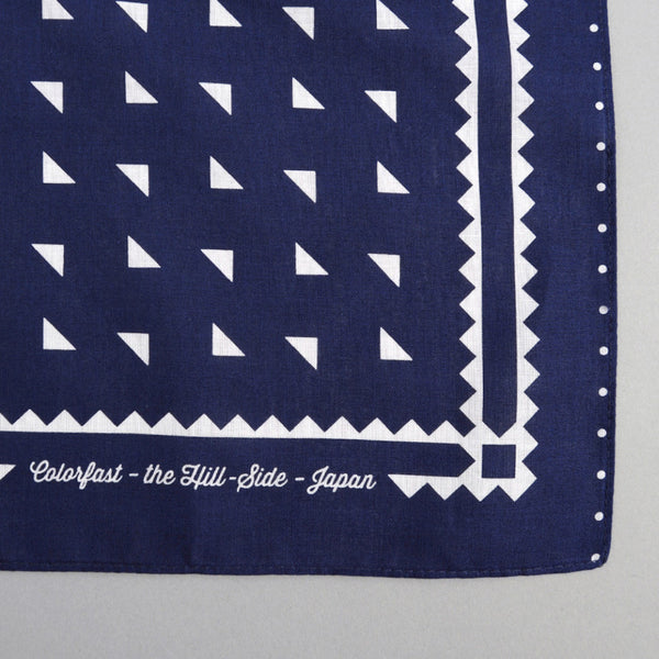 The Hill-Side Classic Logo Souvenir Bandana, Navy