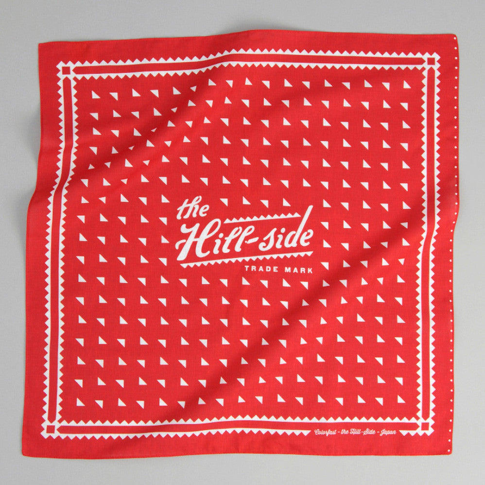 The Hill-Side Classic Logo Souvenir Bandana, Red
