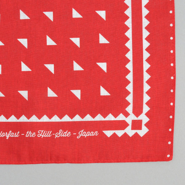 The Hill-Side - Classic Logo Souvenir Bandana, Red - SB3-02