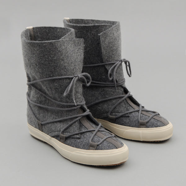 The Hill-Side - Cold-Weather Survival Moccasin Boots, Heavy Wool Felt - SN10-406 - image 1