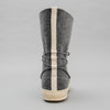 The Hill-Side Cold-Weather Survival Moccasin Boots, Heavy Wool Felt