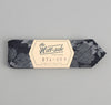 The Hill-Side - Cotton / Linen Jacquard Aloha Bow Tie, Indigo - BT1-269 - image 2