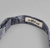 The Hill-Side - Cotton / Linen Jacquard Aloha Bow Tie, Indigo - BT1-269 - image 4