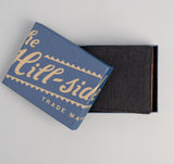 The Hill-Side - Covert Hickory Stripe Twill Wallet, Black - WA1-304 - image 4