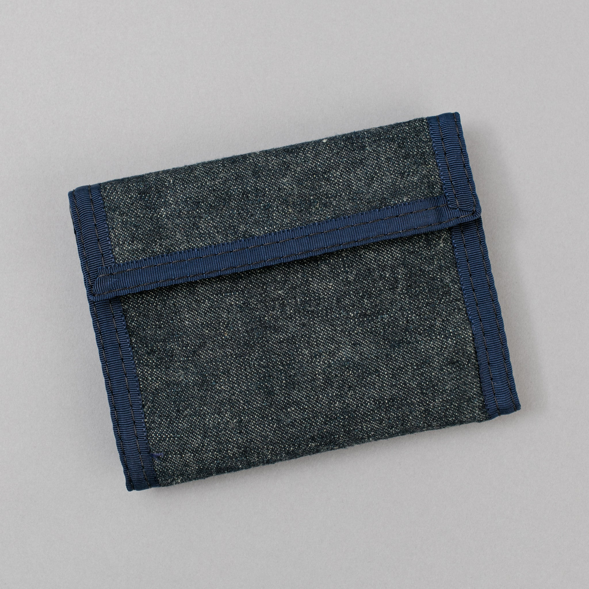 The Hill-Side EZ Wallet, Hemp Denim