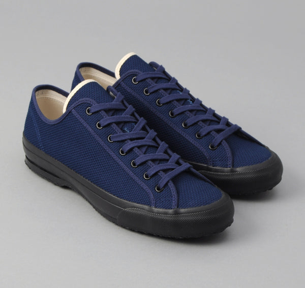 The Hill-Side - Early Trainer, Selvedge Lightweight Indigo Sashiko - SN7-244 - image 1