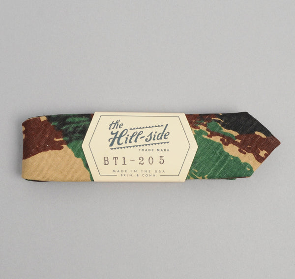 "The Hill-Side French ""Lizard"" Camo Bow Tie"