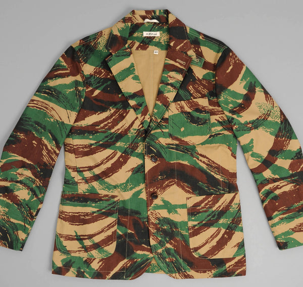 "The Hill-Side - French ""Lizard"" Camo Tailored Jacket - JK1-205 - image 2"
