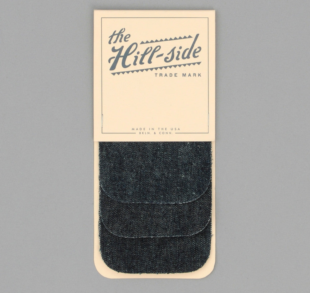 The Hill-Side - Hemp Denim Iron-On Patches - PA1-006 - image 1