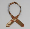 The Hill-Side - Hungarian Camouflage Print Bow Tie, Brown / Tan - BTN-139 - image 3