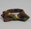 The Hill-Side - Hungarian Camouflage Print Bow Tie, Olive / Brown - BTN-140 - image 2
