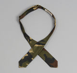 The Hill-Side - Hungarian Camouflage Print Bow Tie, Olive / Brown - BTN-140 - image 3