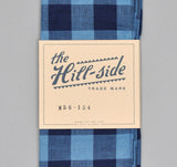 The Hill-Side - INDIGO LARGE GINGHAM SMALL SCARF - N56-154 - image 2