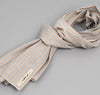 The Hill-Side - INDIGO/PASTEL STRIPE LARGE SCARF - S70-103 - image 1