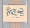The Hill-Side - INDIGO/PASTEL STRIPE LARGE SCARF - S70-103 - image 2