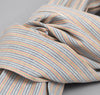 The Hill-Side - INDIGO/PASTEL STRIPE LARGE SCARF - S70-103 - image 3