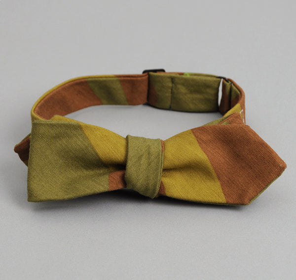 The Hill-Side - ITALIAN CAMOUFLAGE BOW TIE - BTN-173