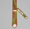 The Hill-Side - ITALIAN CAMOUFLAGE POINTED TIE - PN57-173