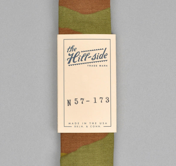 The Hill-Side - ITALIAN CAMOUFLAGE TIE - N57-173