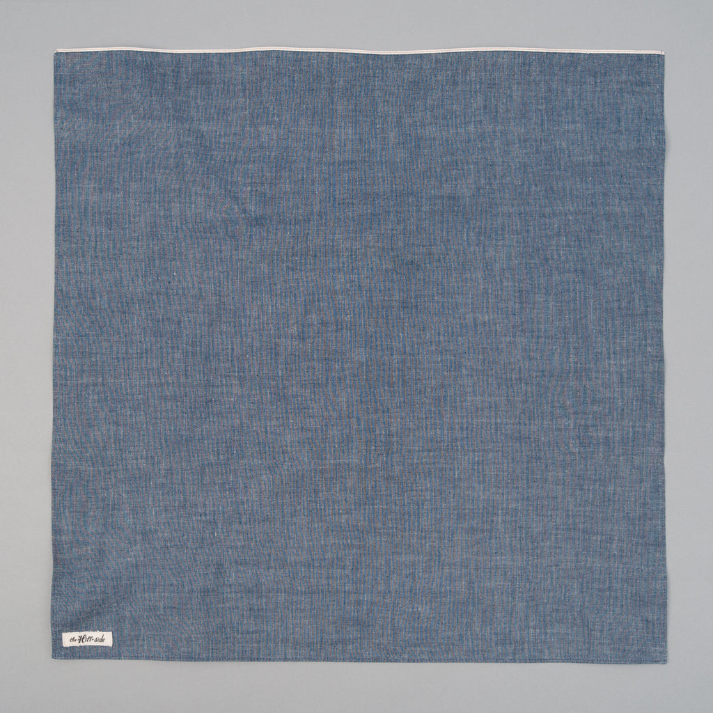 The Hill-Side - Indigo Chambray Bandana - BA1-001 - image 1