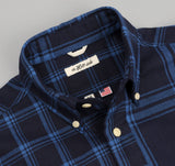 The Hill-Side - Indigo Check Oxford Button-Down Shirt - SH1-254 - image 2