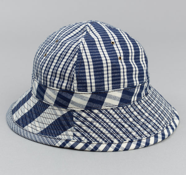 The Hill-Side - Indigo Check Oxford Daisy Mae Hat - HA5-321 - image 1