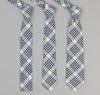 The Hill-Side - Indigo Madras 5x5 Plaid Necktie, Natural / Indigo - PT1-335 - image 2