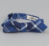 The Hill-Side Indigo Madras Large Check Bow Tie, Indigo Base