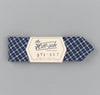 The Hill-Side - Indigo Madras Small Check Bow Tie, Indigo Base - BT1-337 - image 2