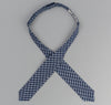 The Hill-Side - Indigo Madras Small Check Bow Tie, Indigo Base - BT1-337 - image 3