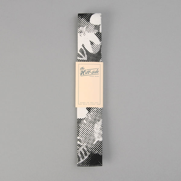 The Hill-Side Kids' Tie, Photocopy Halftone Floral Print