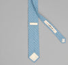 The Hill-Side - LIGHT BLUE GRID POINTED TIE - PN57-152 - image 3