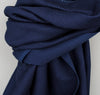 The Hill-Side - Lightweight Indigo Sashiko Small Scarf - SC2-244 - image 2