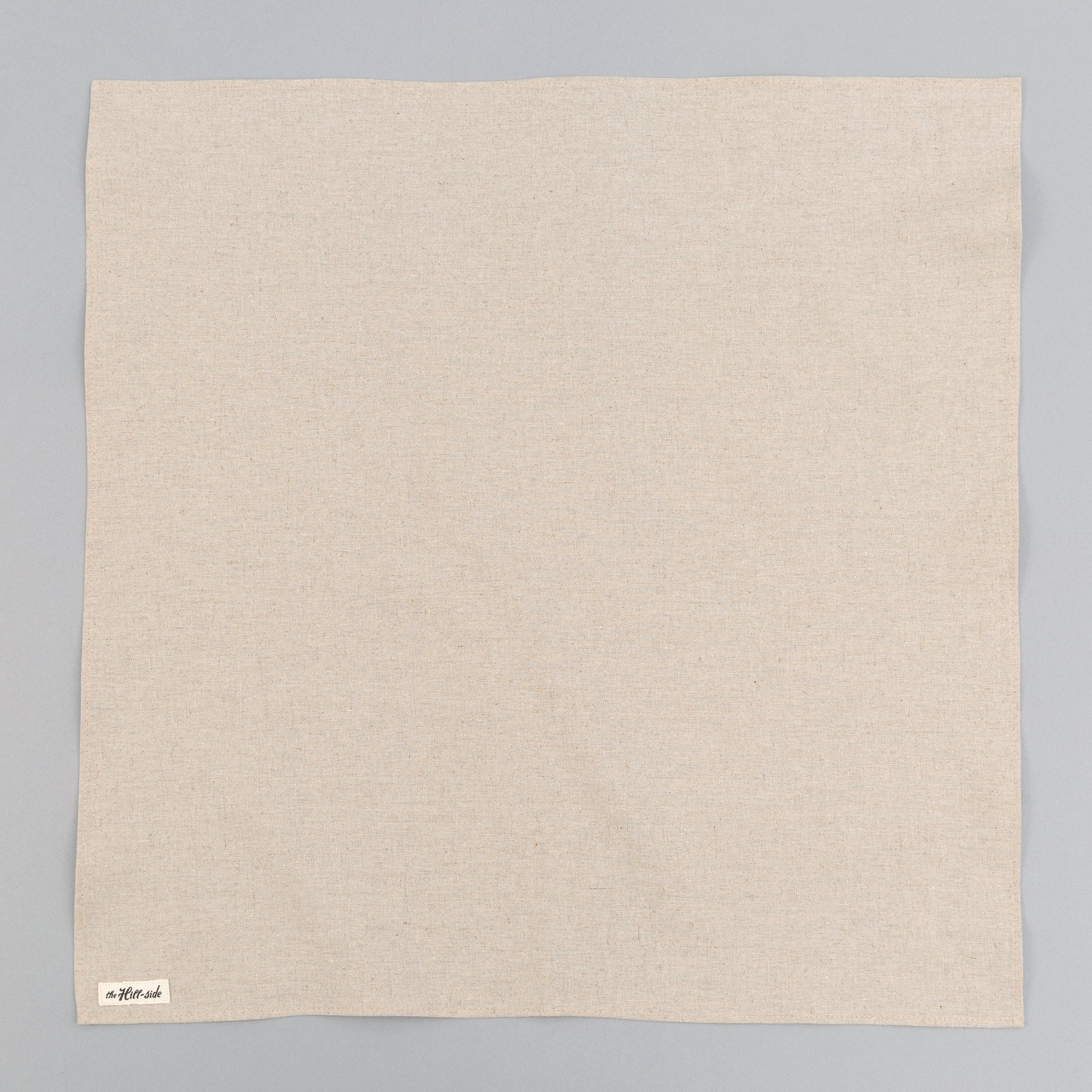 The Hill-Side - Linen / Cotton Oxford Bandana, Natural - BA1-416 - image 1