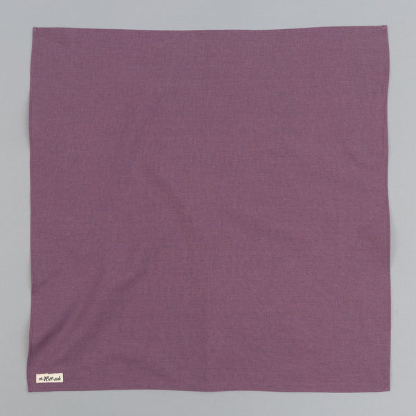 The Hill-Side - Linen / Cotton Oxford Bandana, Purple - BA1-419 - image 1