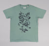 The Hill-Side - Liza's Tree Drawing Printed T-Shirt, Seafoam - TS1-0606 - image 1