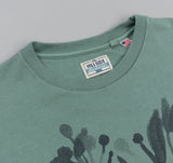 The Hill-Side - Liza's Tree Drawing Printed T-Shirt, Seafoam - TS1-0606 - image 2
