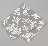 The Hill-Side - Liza's Tree Drawings Bandana, Grey - BA1-347 - image 1