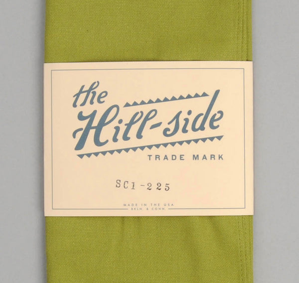 The Hill-Side - Overdyed Soft Oxford Large Scarf, Light Olive - SC1-225 - image 2