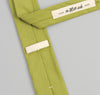 The Hill-Side - Overdyed Soft Oxford Necktie, Light Olive - PT1-225 - image 5