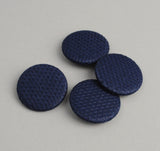 The Hill-Side - PB1-244 - Lightweight Indigo Sashiko Pin-Back Buttons - PB1-X-SS15-2 - image 2