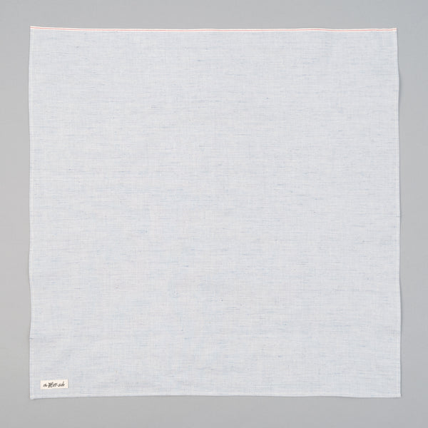The Hill-Side - Pale Indigo Warp Bandana - BA1-322 - image 1