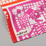 "The Hill-Side - ""Papel Picado"" Print Bandana, White & Multicolor - BA1-478 - image 3"