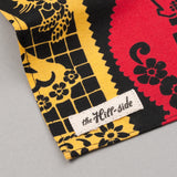 "The Hill-Side - ""Papel Picado"" Print Pocket Square, Black & Multicolor - PS1-477 - image 3"