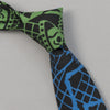 "The Hill-Side - ""Papel Picado"" Print Tie, Black & Multicolor - PT1-477 - image 1"
